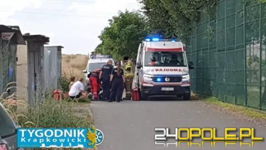 Atak w Krapkowicach. 28-letni mężczyzna dźgnął kobietę nożem. Jest w rękach policji
