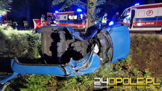 Śmiertelny wypadek w gminie Pokój. Jeden z podróżujących pijany