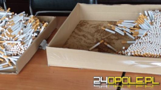 Policjanci zabezpieczyli tytoń i papierosy bez akcyzy