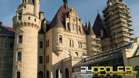 Trwa remont zamku w Mosznej. Przyznano kolejne dofinansowania