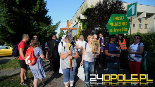 Pielgrzymi z Opola wyruszyli na Jasną Górę