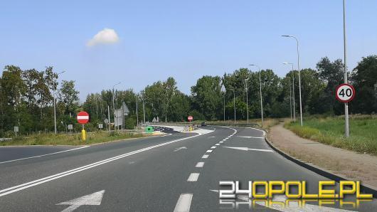 Druga nitka drogi na obwodnicy Północnej Opola gotowa