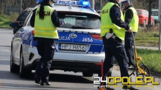Potrącenie na ulicy Nysy Łużyckiej. Kierująca hulajnogą trafiła do szpitala