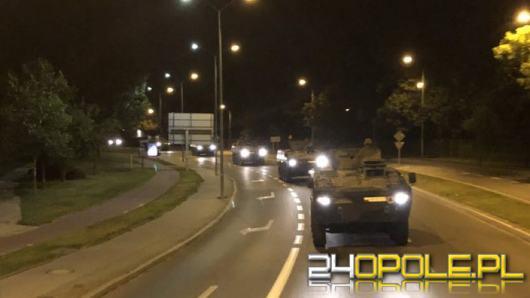 Wielka kolumna wojskowa na drogach. Będą utrudnienia