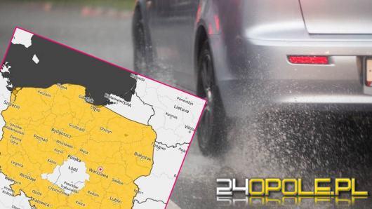 Niemal cała Polska na żółto. IMGW ostrzega, że idą burze