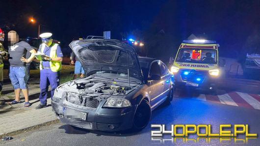 Zderzenie 3 pojazdów na Prószkowskiej