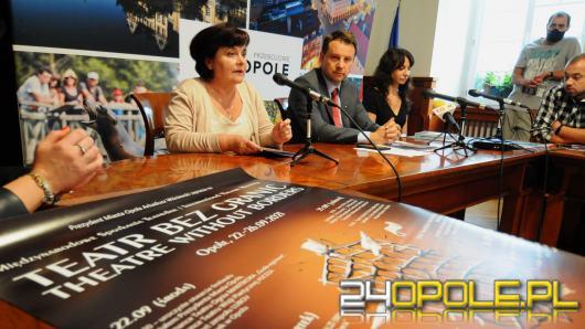 """""""Teatr bez Granic"""" to pierwsze takie wydarzenie w Opolu. Potrwa kilka dni"""