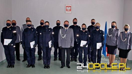 Nowi funkcjonariusze w szeregach Komendy Miejskiej Policji w Opolu