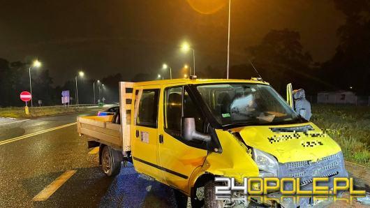 Wypadek na ulicy Niemodlińskiej w Opolu