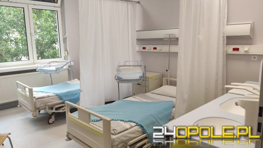 Mamy z noworodkami wracają do wyremontowanej części szpitala