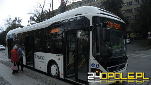 Kolejne elektryczne autobusy trafią do Opola