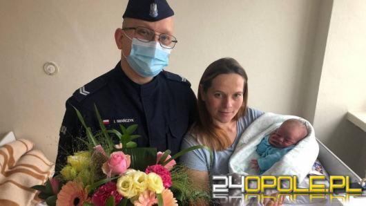 Poród na szpitalnym parkingu. Położnikiem okazał się sierżant