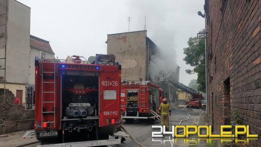 Pożar mieszkania na 1 piętrze budynku wielorodzinnego w Brzegu