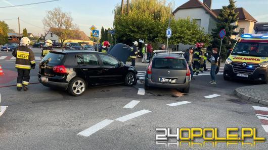 Komprachcice: Jedna osoba poszkodowana po zderzeniu pojazdów