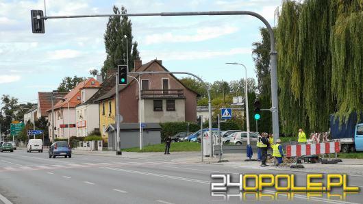 Kolejny etap montowania ITS w Opolu. Utrudnienia na Niemodlińskiej