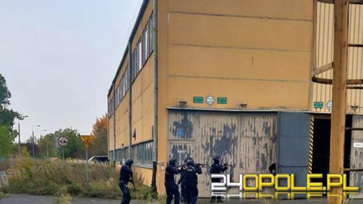 Szkolenie policjantów oddziału prewencji