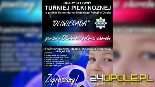 Już w sobotę wielki piknik charytatywny dla 7-letniego Oliwiera z Opola