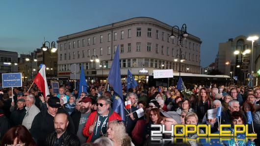 Tłumy na Wiecu poparcia dla Polski w Unii Europejskiej