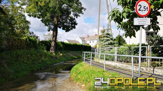 """Trochę droga, trochę rzeka. Od lat mieszkańcy Leśnicy """"płyną"""" ulicą Nad Wodą"""