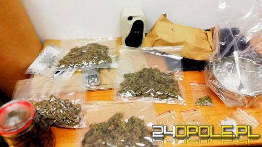 18-latek aresztowany. Posiadał ponad pół kilograma narkotyków