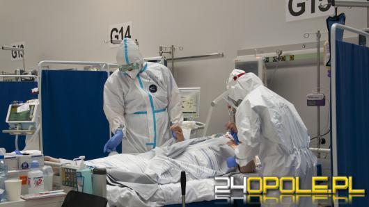 Coraz więcej pacjentów w Szpitalu Tymczasowym