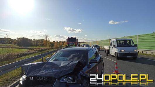 Wypadek na obwodnicy Kędzierzyna-Koźla. Zderzyły się trzy pojazdy