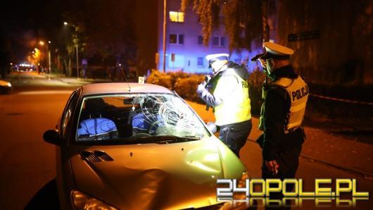 Wypadek w Kluczborku. Rowerzysta w ciężkim stanie trafił do szpitala