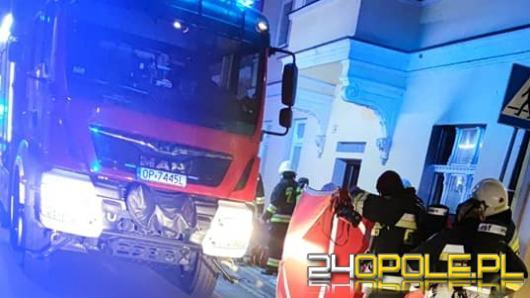 Pożar w kamienicy w Głuchołazach. Jedna osoba w szpitalu