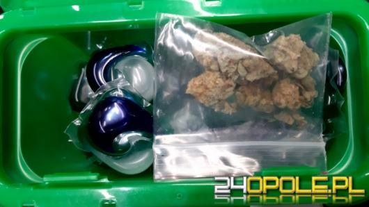 Marihuanę schował w kapsułkach do prania. Nie udało się dowieźć narkotyków do domu