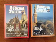 Płyty DVD - kolekcja  dookoła świata-Turcja i Tajlandia