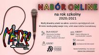 Nabór online   Studio Piosenki METRO w Opolu